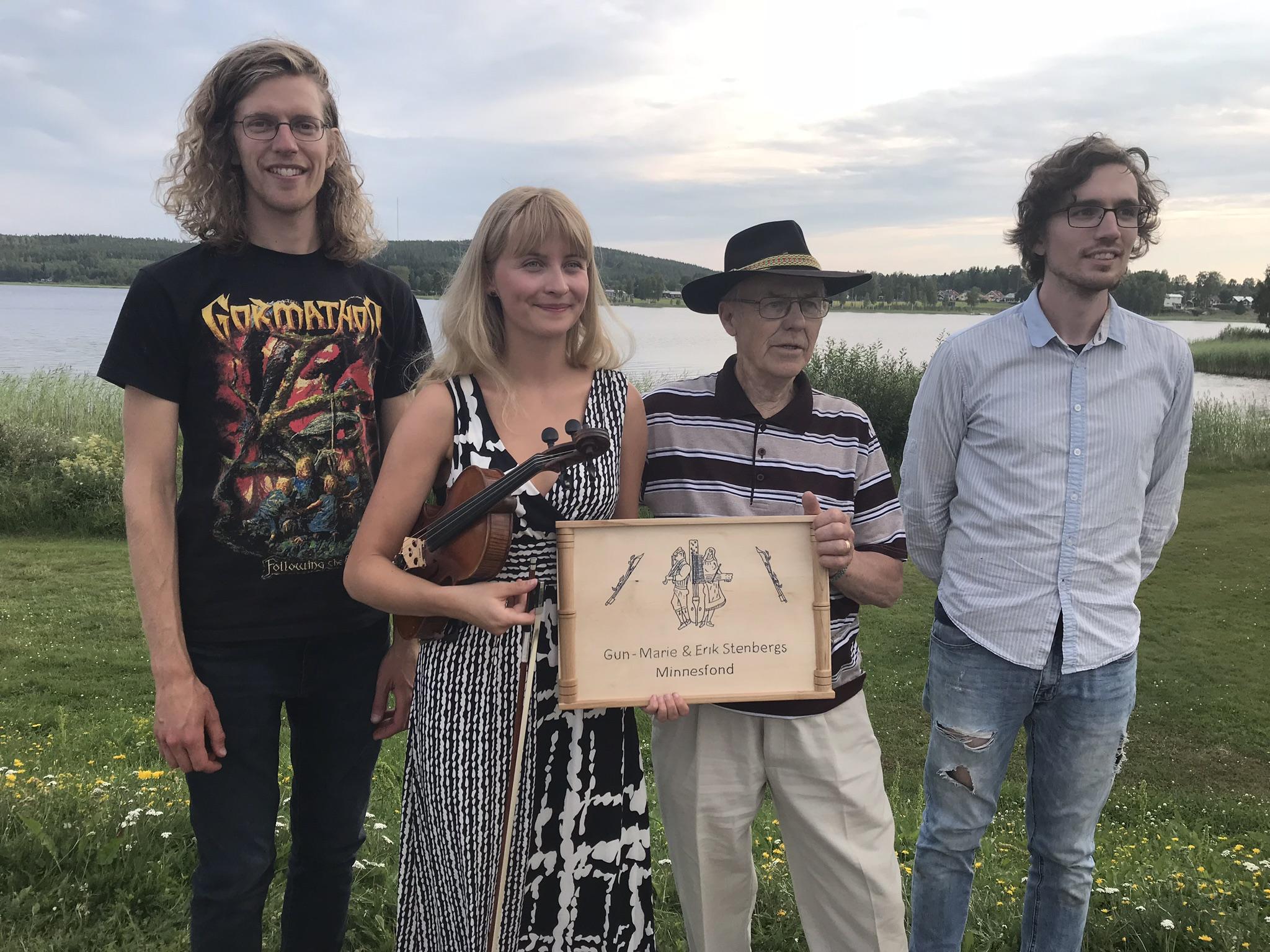 G&E stipendiat 2017 / 2018 - Johan Lingegård & Arvid Staaf / Celina Larsson