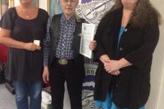 E&J stipendiat 2015 - Lena Sparresäter längst till höger